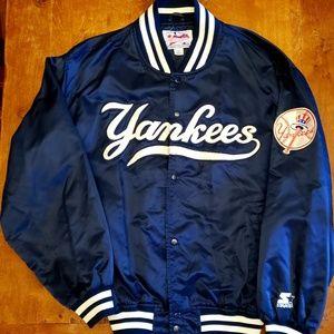 🔥 Vintage Yankees STARTER JACKET all embroidered
